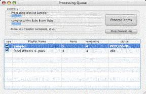 Backbone Radio Processing Queue