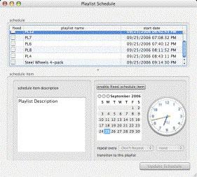 Backbone Radio Schedule