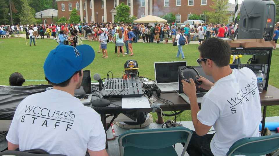 College Radio - WCCU Broadcast