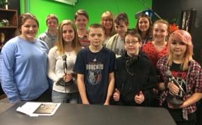 Lincoln Junior High School Radio Award Winners