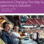 Backbone makes collaborative, distributed audio broadcasts easy in The Broadcast Bridge